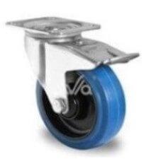 koleso-povorotnoe s tormozom k vozíku